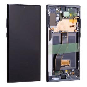 Écran Samsung Galaxy Note 10 Plus (N975F) Noir Sur Châssis (Service Pack)