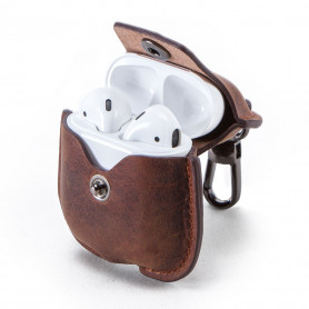 Coque Protection en cuir AirPods 1/2 - CF1100