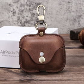 Coque Protection en cuir AirPods Pro - CF1108A
