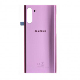 Vitre arrière Samsung Galaxy NOTE 10 (N970F) Rose + Adhesif