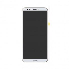 Ecran Huawei Y5 2018 / Honor 7S Blanc Vitre Tactile+LCD