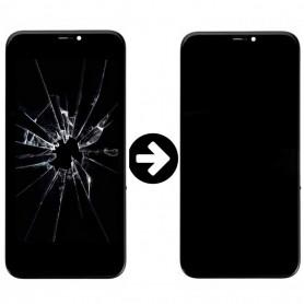Prestation de remise iPhone X en état d'écran OLED Reconditionnement Cassé
