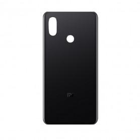 Vitre arrière Xiaomi Mi 8 Noir + Adhesif