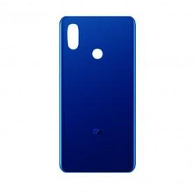 Vitre arrière Xiaomi Mi 8 Blue + Adhesif