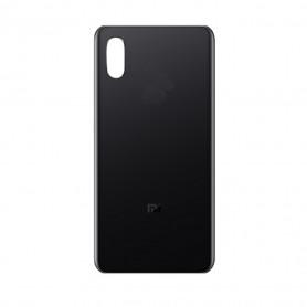 Vitre arrière Xiaomi Mi 8 Pro Noir + Adhesif