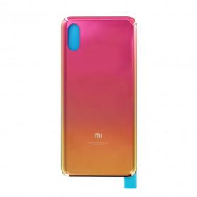 Vitre arrière Xiaomi Mi 8 Pro Or + Adhesif