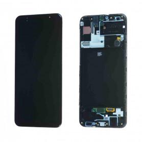 Écran Samsung Galaxy A30s (A307F) Noir (Service Pack)