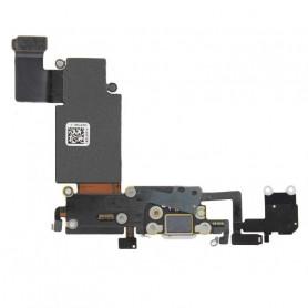 Connecteur de charge iPhone 6S Plus Blanc - Micro + Prise Jack + Antenne GSM