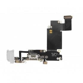 Connecteur de charge iPhone 6S Plus Noir - Micro + Prise Jack + Antenne GSM