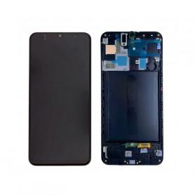 Écran Samsung Galaxy A71 (A715) Noir (Service Pack)