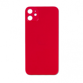 Vitre arrière iPhone 11 (PRODUCT)RED - Avec logo + Adhesif