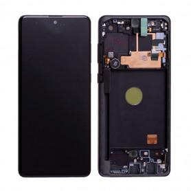 Écran Samsung Galaxy S10 Lite (G770) Noir (Service Pack)