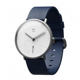 Xiaomi Mijia SYB01 Montre - Blanc à Quartz Deux Cadran Intelligent Vibration Rappel Fitness Tracker Montre Intelligente