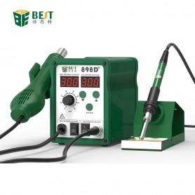2 En 1 Air chaud et fer à souder avec affichage de la température - BST-898D