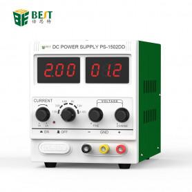 Alimentation 12V 1A DC pour la réparation de téléphones portables - BEST-1502DD
