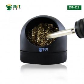 Pointe de fer à souder nettoyer la boule Remover Wire Sponge Scrubber Ball Steer Wire Ball