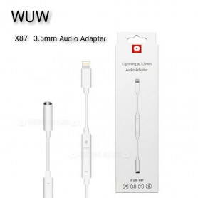 Adaptateur Lightning vers Jack 3.5mm Audio (Bluetooth)