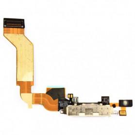 iPhone 4S - Connecteur de charge + Micro (connecteur dock) - Noir