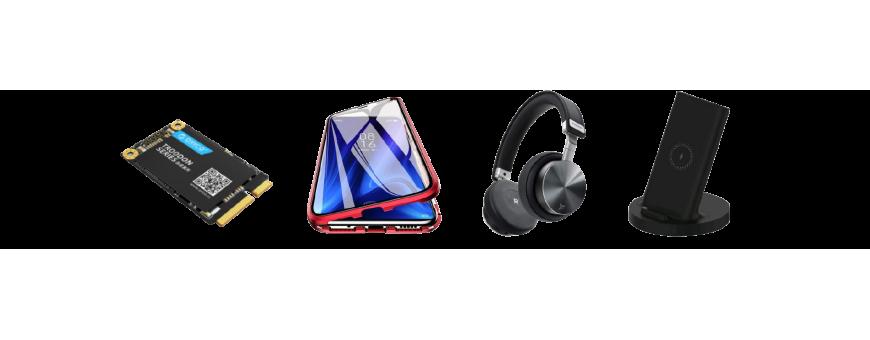 Tous types d'accessoires pour téléphones gadgets verres trempés coques