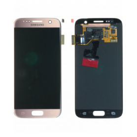 Écran Samsung Galaxy S7 (G930F) Rose Gold (Service Pack)