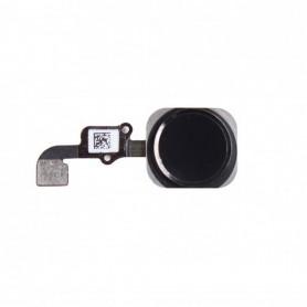 Bouton Home Noir + Nappe - IPhone 6
