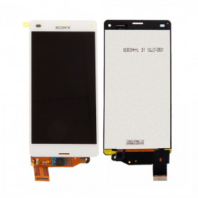 Écran complet Sony Xperia Z3 Compact (D5803) Blanc ( LCD + Tactile + Châssis )