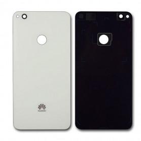 Vitre arrière Huawei P8 Lite 2017 Blanc - Avec logo + Adhésif