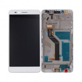 Ecran complet Huawei Honor 5X (KIW-L21) Blanc LCD + Vitre Tactile Sur Châssis