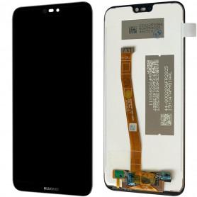 Ecran Huawei P20 Lite (ALE-LX1) Noir LCD + Vitre Tactile