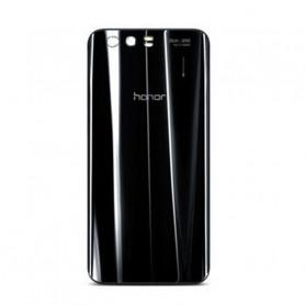 Vitre arrière HUAWEI Honor 9 Noir - Avec Logo + Adhesif