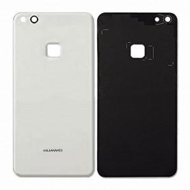 Vitre arrière Huawei P10 Lite Blanc - Avec logo + Adhésif