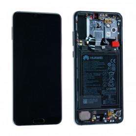 Écran / Châssis / Batterie Huawei P20 Pro Bleu (Origine)