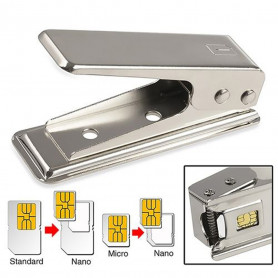 Iphone 5 Generation Cutter Carte SIM Cutter