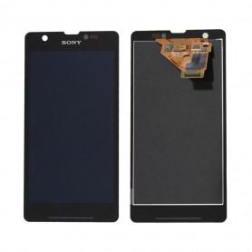 Écran Sony Xperia ZR (C5502) Noir LCD + Vitre Tactile