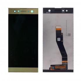 Écran Sony Xperia XA2 Ultra (H3213) Or LCD + Vitre Tactile