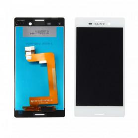 Écran Sony Xperia M4 Aqua (E2353) Blanc LCD + Vitre Tactile