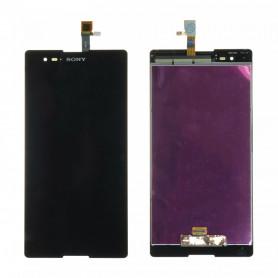 Écran Sony Xperia T2 Ultra (D5303) Noir LCD + Vitre Tactile