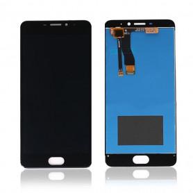 Ecran Meizu M5 Note Noir Vitre Tactile + LCD