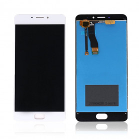 Ecran Meizu M5 Note Blanc Vitre Tactile + LCD