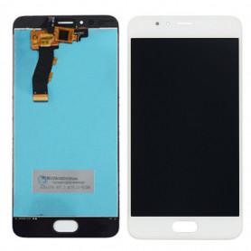 Ecran Meizu M5S Blanc Vitre Tactile + LCD