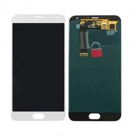 Ecran Meizu MX5 Blanc Vitre Tactile + LCD