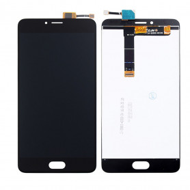 Ecran Meizu U20 Noir Vitre Tactile + LCD