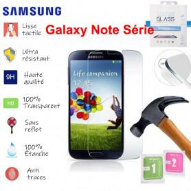 Film de Verre Trempé HD Avec Emballage - SAMSUNG Galaxy Note 2 3 4 5 7 8 9 Edge