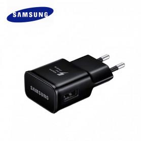 Adaptateur Secteur USB Origine Samsung EP-TA20EBE Noir 2A,5V Charge rapide