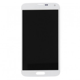 Ecran LCD + Vitre Tactile Blanc  pour  Samsung Galaxy S5
