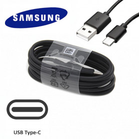 Câble Data USB à Type C EP-DG950CBE Samsung Noir (Fast Charge)