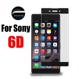 6D Pleine Couverture En Verre Trempé Film  Sony X Série