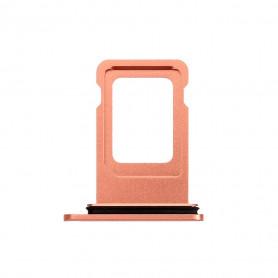 Tiroir SIM iPhone XR Corail