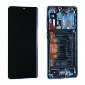 Écran Huawei P30 Pro Bleu Aurora + Châssis + Batterie (Origine)