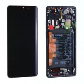 Écran Huawei P30 Pro Noir + Châssis + Batterie (Origine)